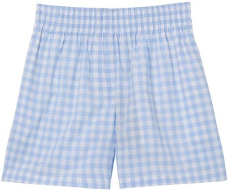 Burberry Gingham Check Shorts