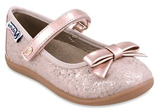 Naturino Baby Girl's, Little Girl's and Girl's Glitter Bow Mary Janes