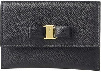 Salvatore Ferragamo Vara Bow Card Case