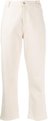 YMC cropped Geanie jeans