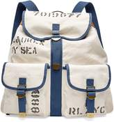 Ralph Lauren Canvas Drawstring Backpack