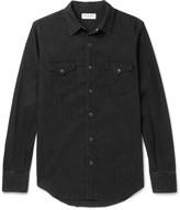 Saint Laurent - Slim-fit Washed-denim Shirt