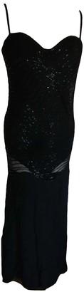 La Perla Black Glitter Dress for Women