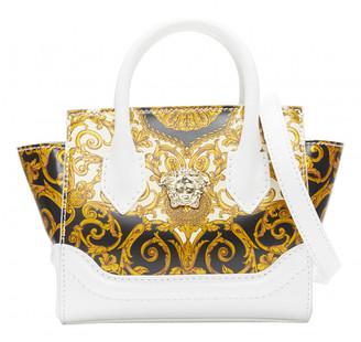 Versace Palazzo Empire White Leather Handbags