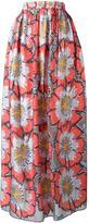 Tsumori Chisato floral print maxi skirt