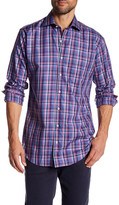 Peter Millar Madison Plaid Long Sleeve Classic Fit Shirt