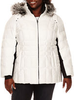 ZeroXposur Shimmer Puffer Jacket - Plus