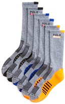 Polo Ralph Lauren Racing Stripe Crew Socks