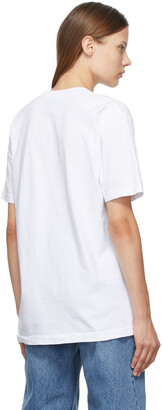 Online Ceramics SSENSE Exclusive White 'All Booked' T-Shirt