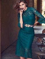 New York & Co. Eva Mendes Collection - Alexandra Lace Sheath Dress