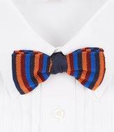 Daniel Cremieux Knit Stripe Silk Bow Tie