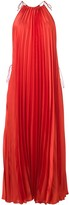 Stella McCartney pleated max halter dress