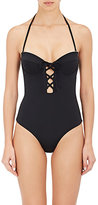 Mara Hoffman Women's Lace-Up Underwire One-Piece Swimsuit