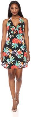 Margaritaville Women's Mid Length Tropical Nights Dress