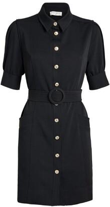 Sandro Belted Tailored Mini Dress