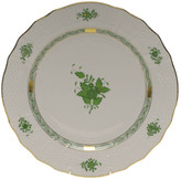 Herend Chinese Bouquet Green Service Plate