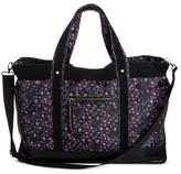 Mossimo Women's Floral Weekender Bag Black