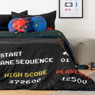South Shore Dreamit Black Kids Bedding Set Video Game