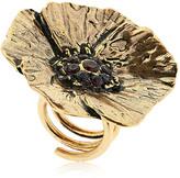 Alcozer & J Cloe Ring With Garnets