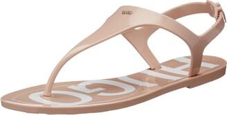 HUGO BOSS Women's Emma Flat Sandal