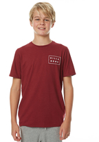Billabong Kids Boys Die Cut Tee Red