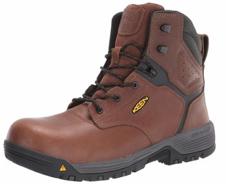 """Keen Mens Chicago 6"""" Composite Toe ESD Work Boot Construction Boot"""
