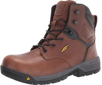 "Keen Men's Chicago 6"" Composite Toe ESD Work Boot Construction"