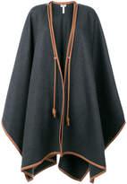 Loewe blanket cape coat
