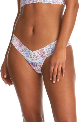 Hanky Panky Tie And True Low-Rise Lace Thong
