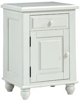 The Well Appointed House Monterey Single Door Nightstand-Available in Two Different Finishes