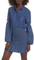 The Fifth Label Women's Sentiment Balloon Sleeve Denim Shirt