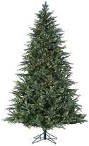 Sterling 7 ft. Pre-Lit Multicolored LED Fairmont Pine Artificial Christmas Tree - Indoor