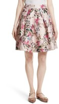 Ted Baker Women's Juliane Metallic Jacquard Skirt