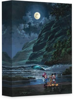 Disney ''Moonlight Portrait'' Giclee on Canvas by Rodel Gonzalez