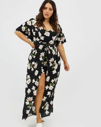 You & All Floral Maxi Playsuit