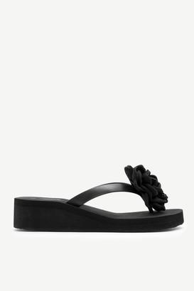 Ardene Heeled Flip-Flops