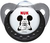NUK Baby Disney Mickey Mouse Soother Pacifier 6-18 Months Silicone Black 9194-3