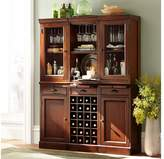 Pottery Barn Cabinet Base with Glass Doors