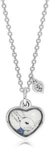 Rhona Sutton Beatrix Potter Sterling Silver Peter Rabbit Cubic Zirconia Pendant Necklace