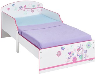 Hello Home Flowers and Birds Toddler Bed