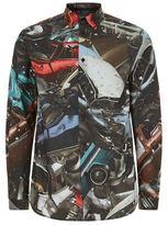 Christopher Kane Car Crash Print Shirt