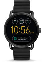 Fossil Q Wander Touchscreen Black Silicone Smartwatch