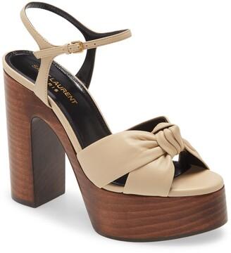 Saint Laurent Bianca Platform Sandal