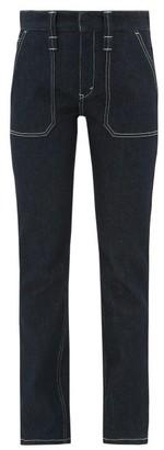 Chloé Upcycled High-rise Skinny-leg Jeans - Womens - Denim