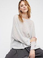 Free People After It Rains Cashmere Pullover