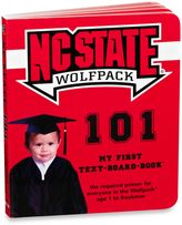Bed Bath & Beyond North Carolina State University 101: My First Text-Board-Book