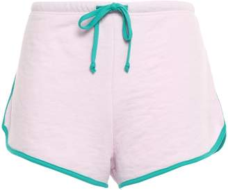Wildfox Couture French Cotton-blend Terry Shorts