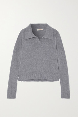 &Daughter + Net Sustain Quinn Wool And Cashmere-blend Sweater - Gray