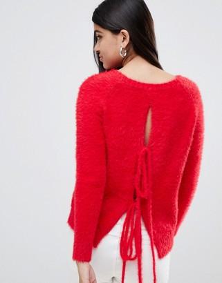 Glamorous longline sweater