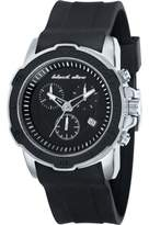 Black Dice Men's Quartz Watch with Black Dial Chronograph Display and Black Silicone Strap BD 066 01